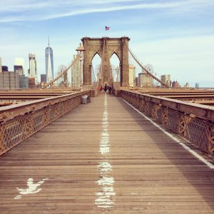 New york - ponte di brooklyn gitan
