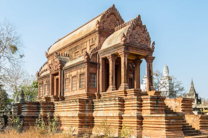 Cambogia strutture antiche