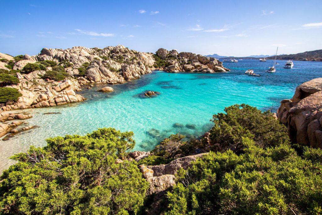 Viaggio nelle spiagge in Sardegna