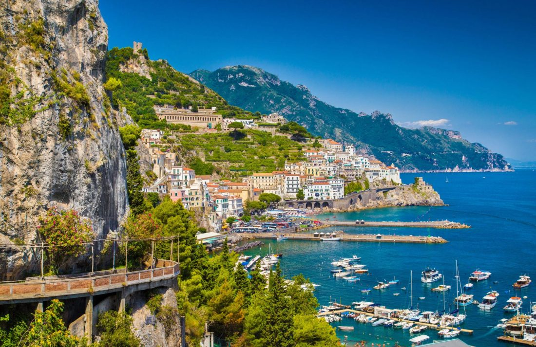 Viaggio organizzato in Costiera Amalfitana