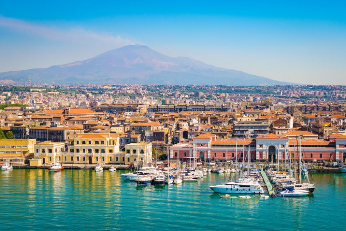 vacanze in sicilia - catania etna