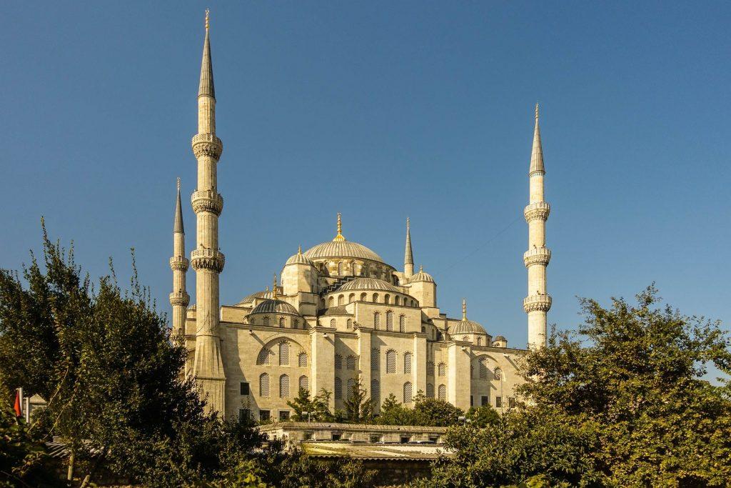 Turchia-Istanbul-moschea-blu